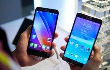 So sánh điện thoại Asus PadFone S và Asus Zenfone 2