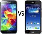 So sánh điện thoại Asus PadFone S và Sony Xperia M4 Aqua