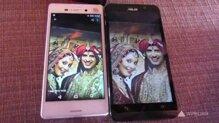 So sánh điện thoại Asus Zenfone Selfie và Samsung Z1