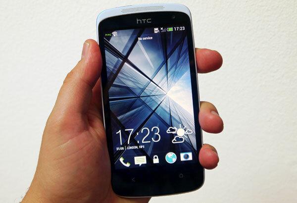 So sánh điện thoại di động Sony Xperia C C2305 và HTC Desire 500