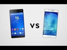 So sánh điện thoại di động Samsung Galaxy A8 và Sony Xperia C5 Ultra