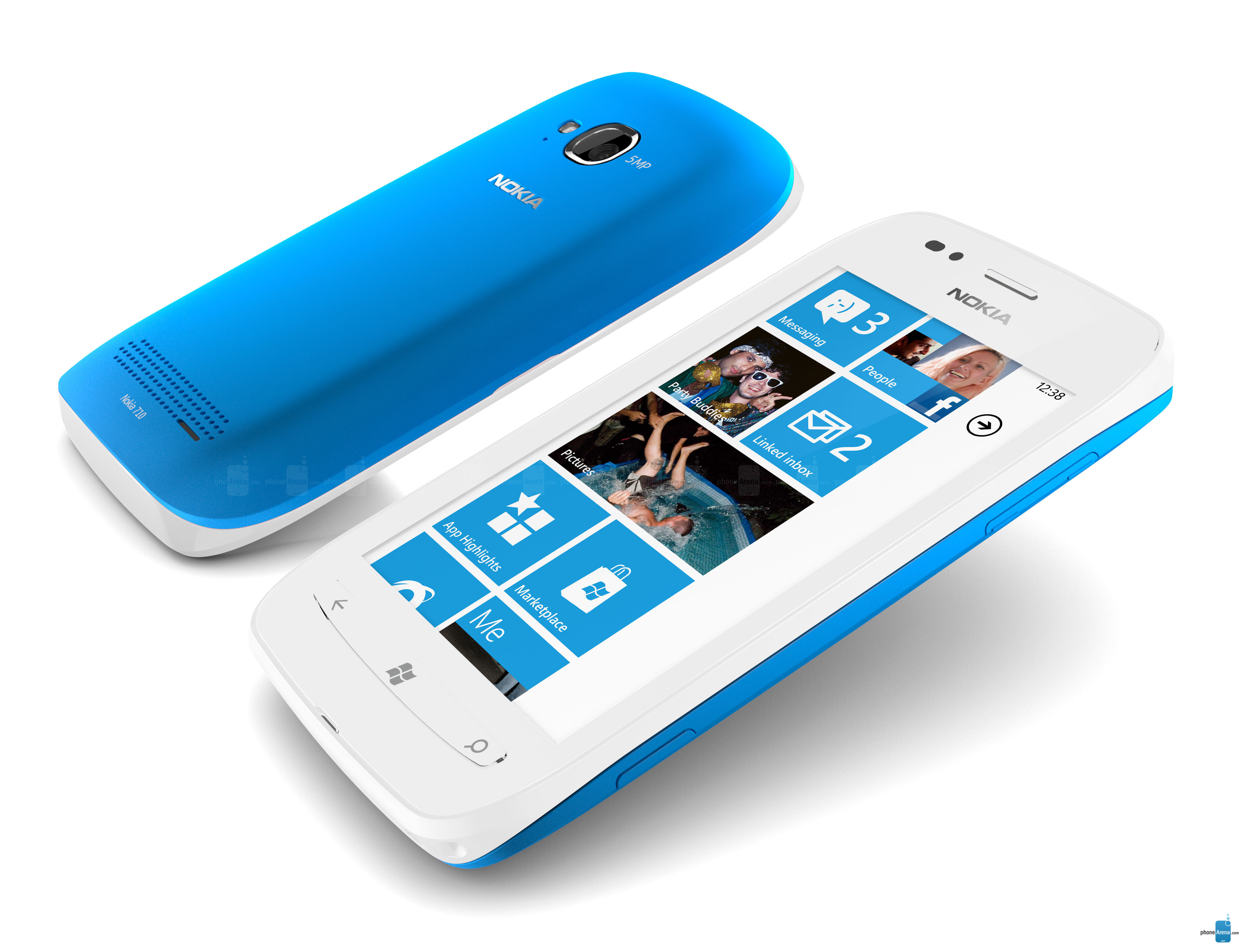 So sánh điện thoại di động Sony Xperia U và Lumia 710: chỉ là sự thất vọng