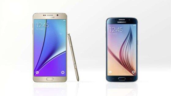 So sánh điện thoại Galaxy Note 5 và Galaxy S6: đi tìm sự khác biệt ?