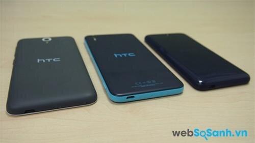 So sánh điện thoại HTC Desire 620 và HTC Desire Eye