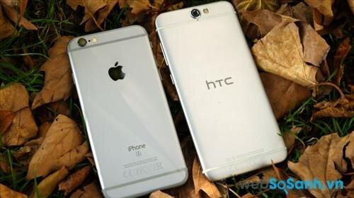 So sánh điện thoại HTC One A9 và HTC One E8