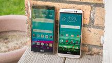 So sánh điện thoại HTC One A9 và LG G4