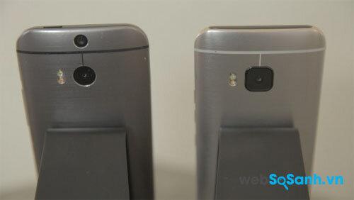 So sánh điện thoại HTC One A9 và HTC One M9