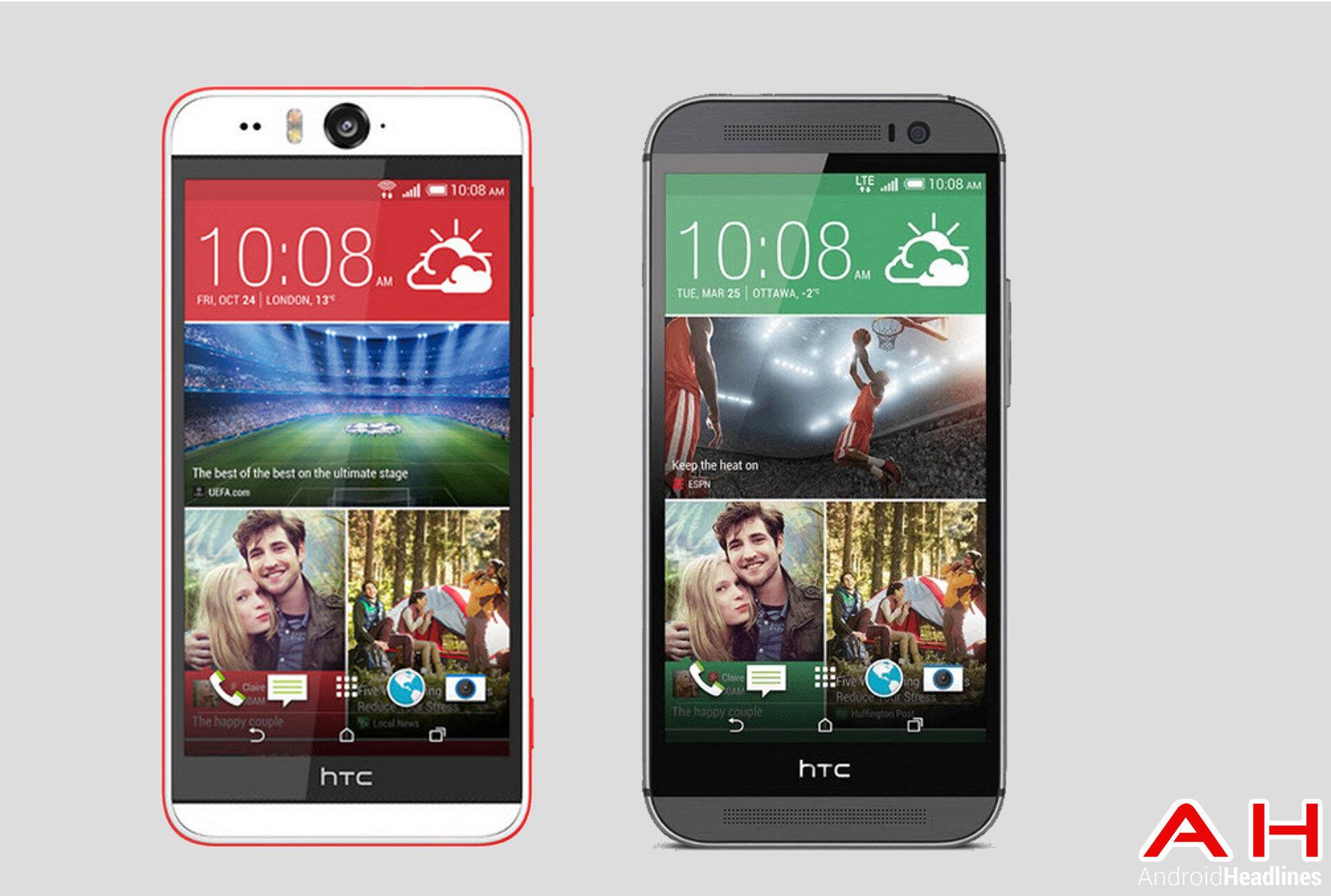 So sánh điện thoại HTC One A9 và HTC Desire Eye