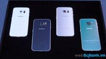 So sánh điện thoại HTC One A9 và Samsung Galaxy S6 Edge