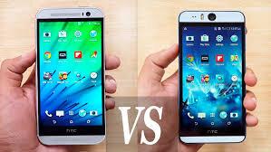 So sánh điện thoại HTC One E8 và HTC Desire Eye