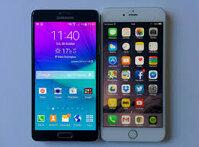 So sánh điện thoại iPhone 6 Plus và Samsung Galaxy Note 5