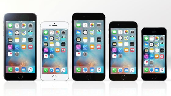 So sánh điện thoại  iPhone 6s Plus, iPhone 6s, iPhone 6 Plus, iPhone 6 và iPhone 5s (Phần 2)