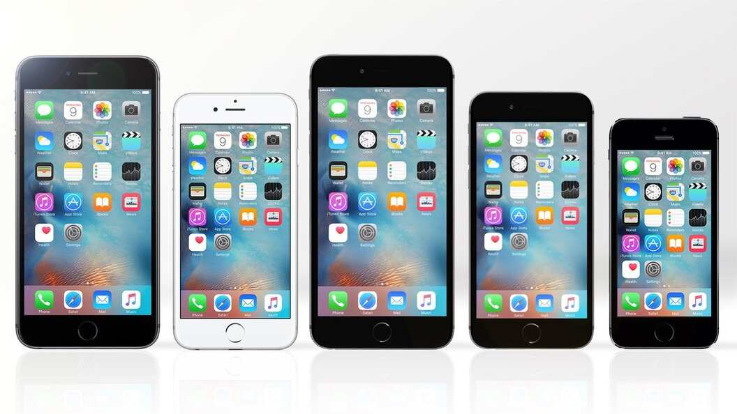 So sánh điện thoại  iPhone 6s Plus, iPhone 6s, iPhone 6 Plus, iPhone 6 và iPhone 5s (Phần 1)