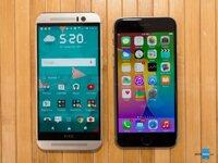 So sánh điện thoại iPhone 6s và HTC One M9