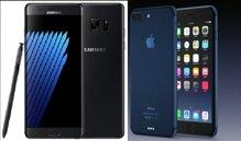 So sánh điện thoại iPhone 7 Plus và Samsung Galaxy Note 7