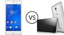 So sánh điện thoại Lenovo Vibe P1 và Sony Xperia Z3