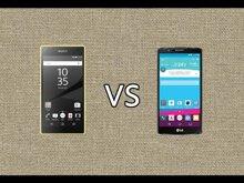 So sánh điện thoại LG G5 và Sony Xperia Z5 Compact