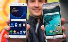 So sánh điện thoại LG G5 và Samsung Galaxy S7 Edge