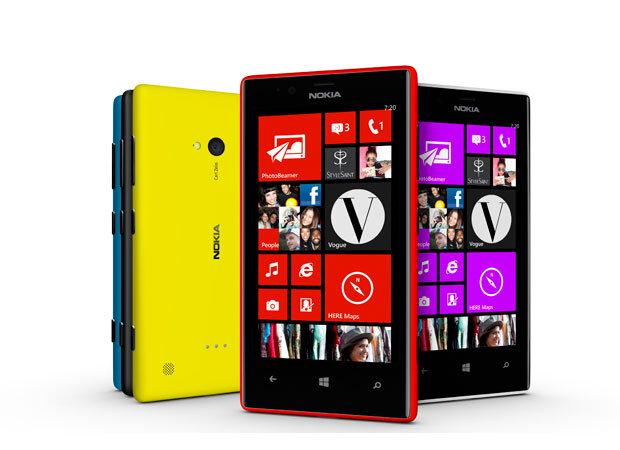 So sánh điện thoại Lumia 720 và  Sony Xperia C C2305