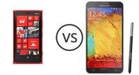 So sánh điện thoại Lumia 925 và Samsung Galaxy Note 3 Neo