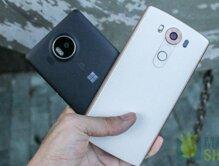 So sánh điện thoại Lumia 950 XL và điện thoại LG V10