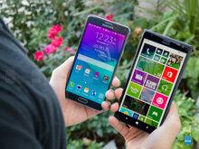 So sánh điện thoại Nokia Lumia 1520 và Samsung Galaxy Note 4