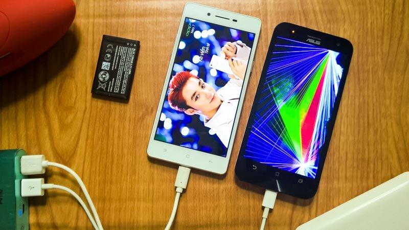 So sánh điện thoại Oppo Neo 7 và Asus Zenfone 2 Laser