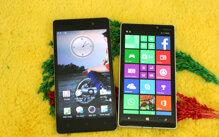 So sánh điện thoại Oppo R7s và Nokia Lumia 930