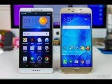 So sánh điện thoại Oppo R7s và Samsung Galaxy S6 Edge