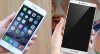 So sánh điện thoại Oppo R7s và iPhone 6