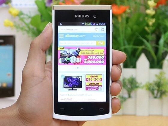 So sánh điện thoại Philips Xenium X513 và Philips S308 (Phần 1)