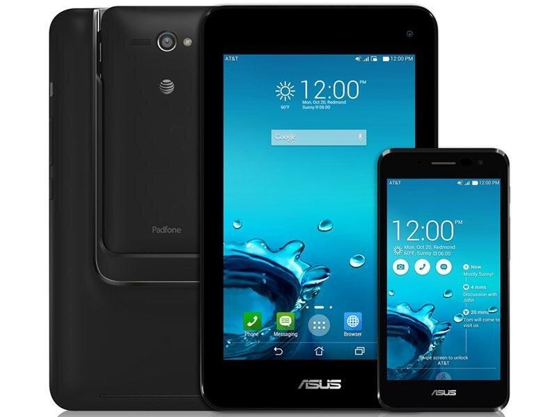 So sánh điện thoại Q Luna và Asus PadFone S