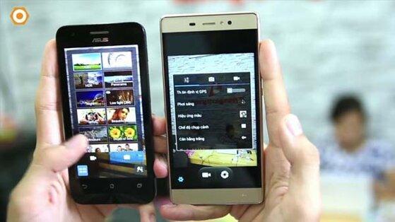So sánh điện thoại Q Luna và Asus Zenfone C