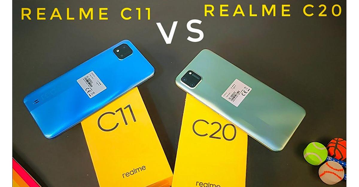 So sánh điện thoại Realme C20 và Realme C11: Có nâng cấp gì đáng kể?