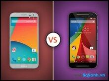 So sánh điện thoại Samsung Galaxy A3 và Motorola Moto G 2014 trong phân khúc tầm trung