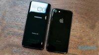 So sánh điện thoại Samsung Galaxy S8 và Iphone 7