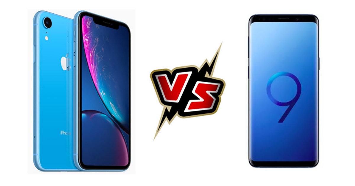 So sánh điện thoại Samsung Galaxy S9 và iPhone Xr: Đâu là chiếc smartphone đáng mua nhất hiện tại