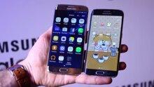 So sánh điện thoại Samsung Galaxy S7 Edge và S6 Edge