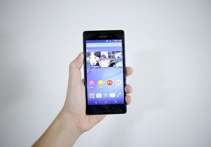 So sánh điện thoại Samsung Galaxy E7 và Sony Xperia M4 Aqual Dual