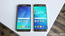 So sánh điện thoại Samsung Galaxy S7 và Samsung Galaxy Note 5