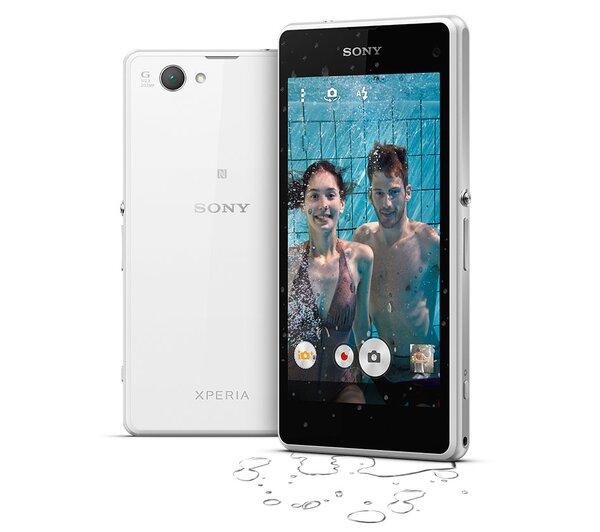 So sánh điện thoại Samsung Galaxy J và Sony Xperia Z1 Compact