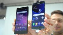 So sánh điện thoại Samsung Galaxy S7 Edge và Sony Xperia Z5