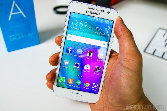 So sánh điện thoại Samsung Galaxy A3 và HTC One Mini