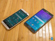 So sánh điện thoại Samsung Galaxy Note 5 và HTC One M9