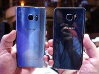 So sánh điện thoại Samsung Galaxy Note 7 và Samsung Galaxy Note 5