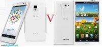 So sánh điện thoại Sky A850 và Sky A860