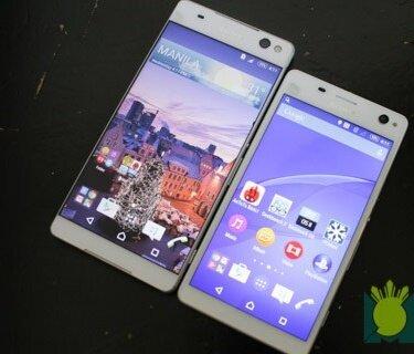 So sánh điện thoại Sony Xperia C5 Ultra và điện thoại Xperia C4
