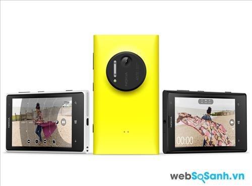 So sánh điện thoại Sony Xperia Z Ultra và Lumia 1020