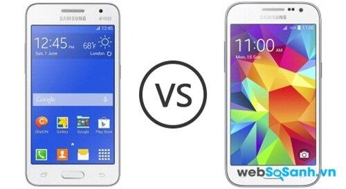 So sánh điện thoại tầm trung Galaxy Core Prime và Galaxy Core 2 của Samsung