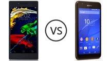 So sánh điện thoại tầm trung Xperia E4 và Lenovo P70